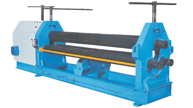3 Roll Pyramid Type Mechanical Plate Bending Machine